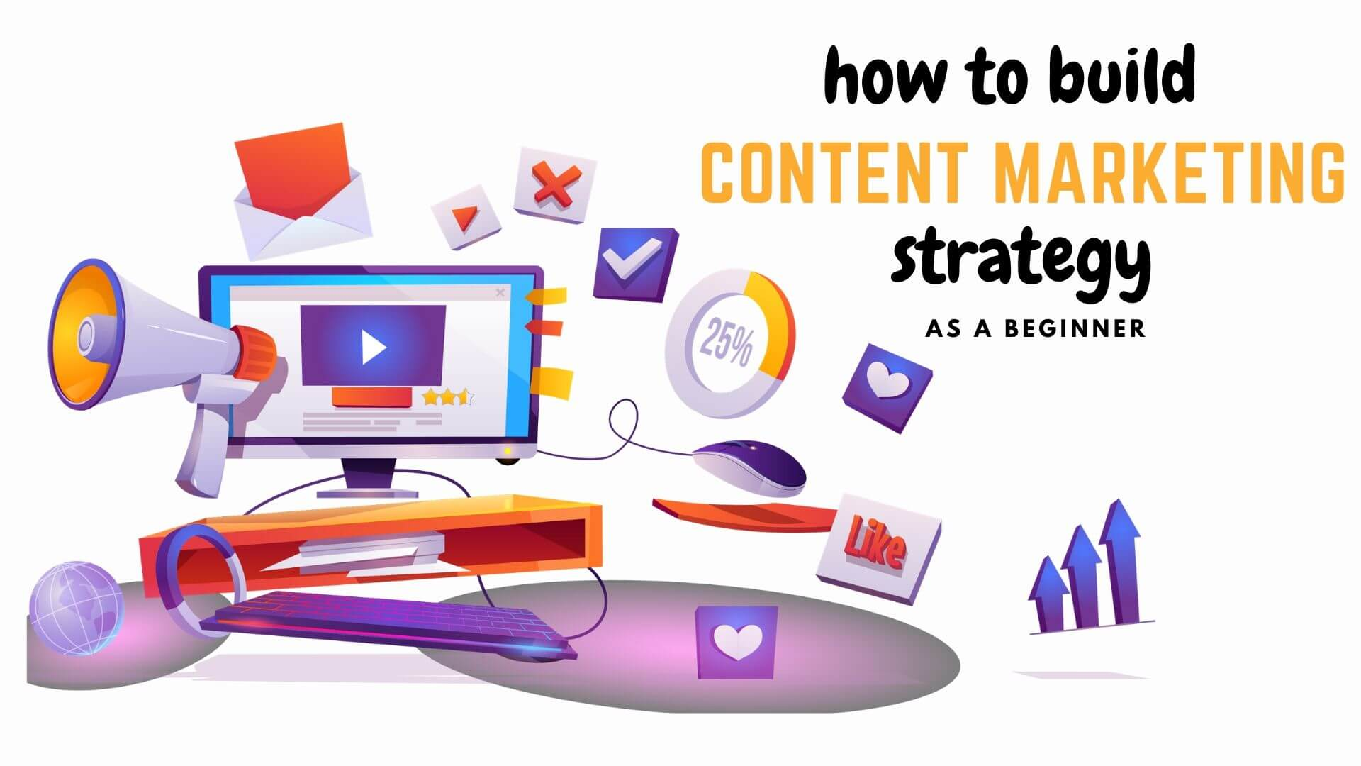Beginner's Guide to build Content Marketing Strategy 2021