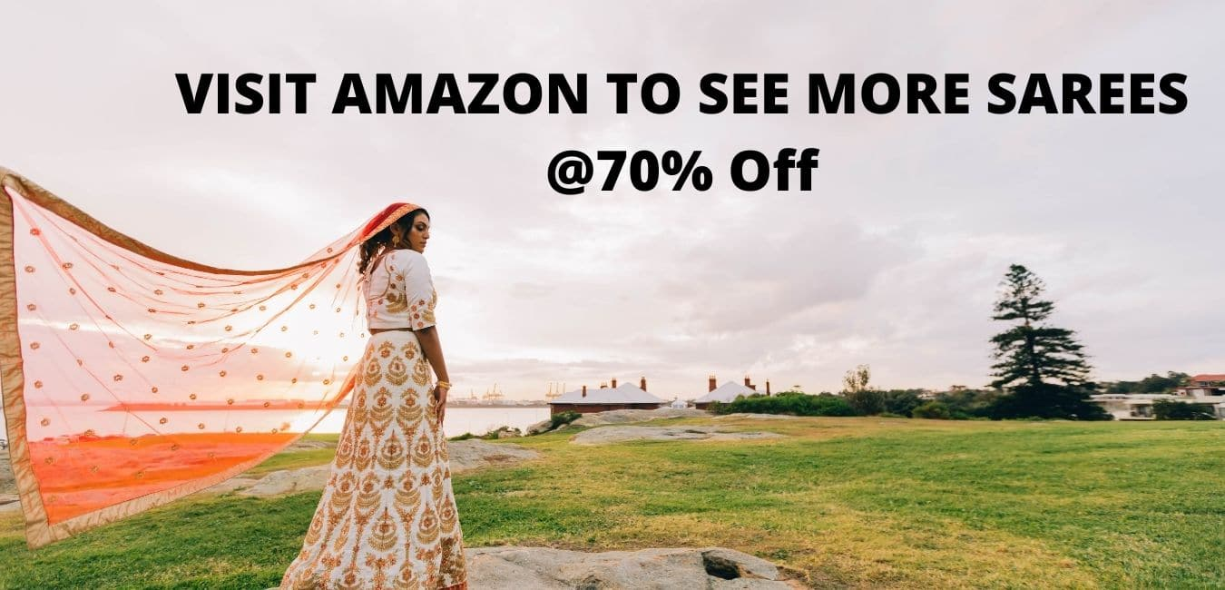 Amazon great indian festival deals on sarees