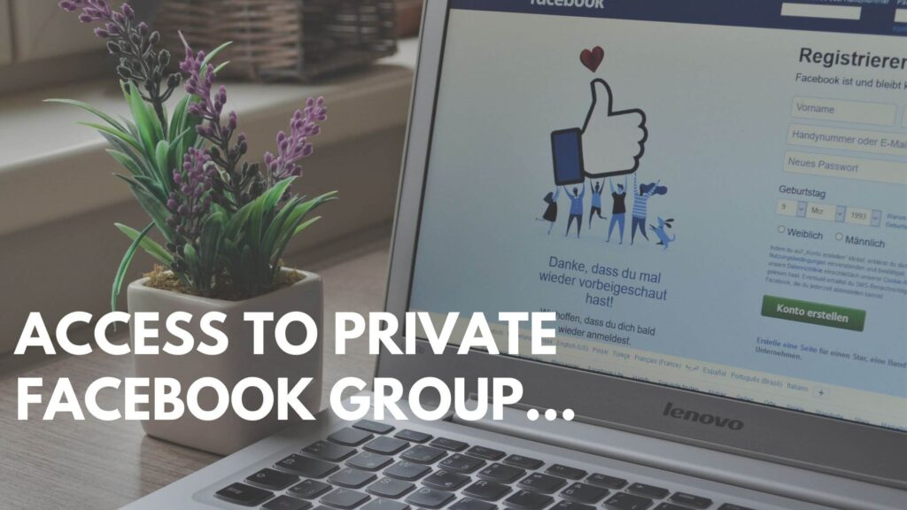 Access to rahul mannan's private facebook group