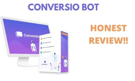 CONVERSIO BOT REVIEW | Build Chatbot in Few Clicks